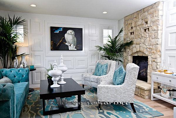 etkileyici oturma odasi dekorasyonlari