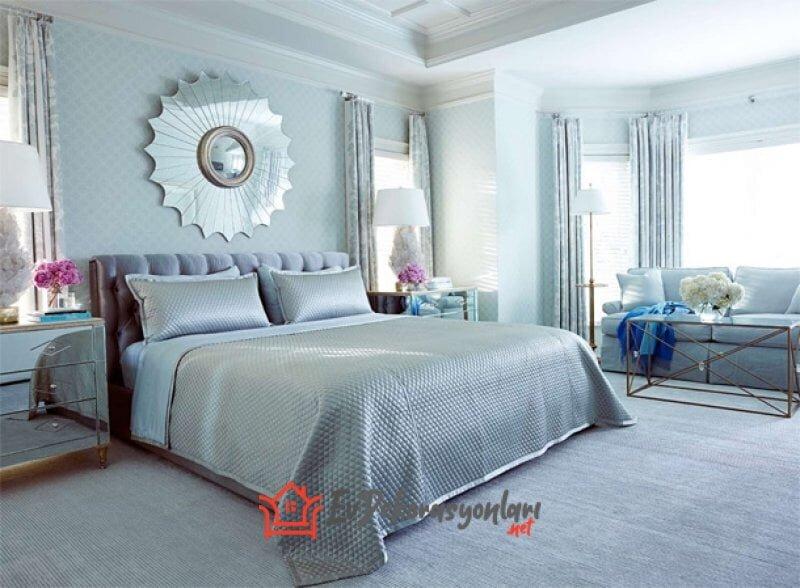 etkileyici yatak odasi dekorasyon modelleri 2019