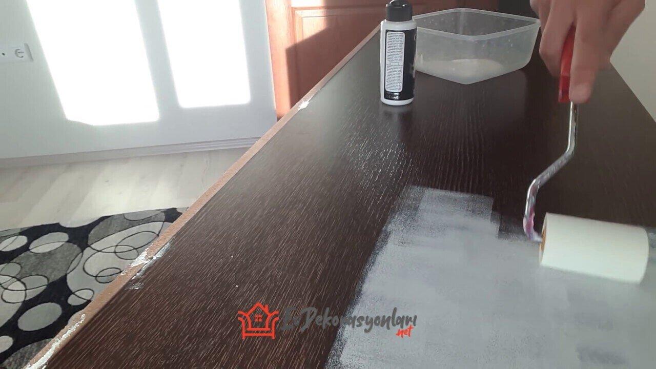 Evde Mobilya Boyama Teknikleri