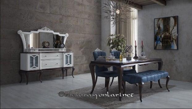 evgor mobilya montana yemek odasi modeli