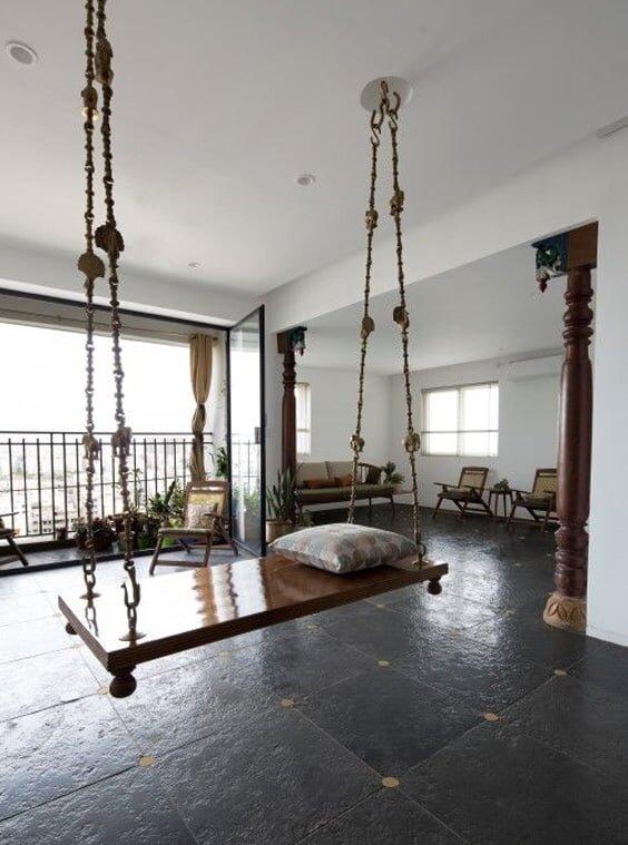 Eviniz İçin Tavana Asılan Salıncak Modelleri
