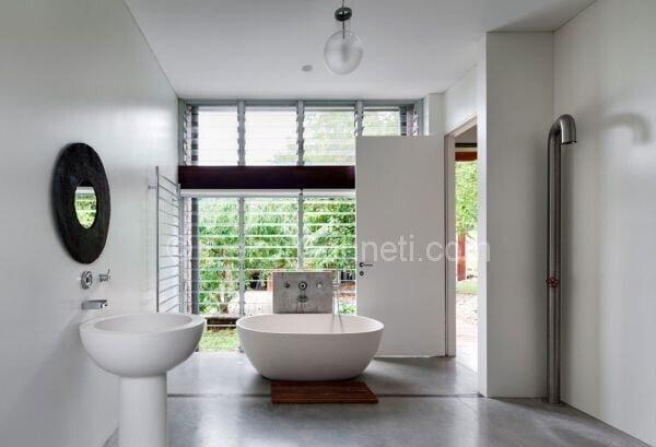farklı banyo dekorasyonları