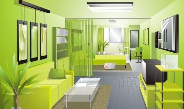 farkli-oturma-odasi-duvar-renk-fikirleri