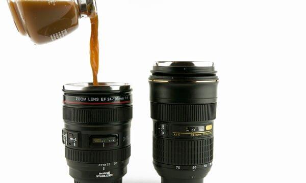 fotograf makinası fincan