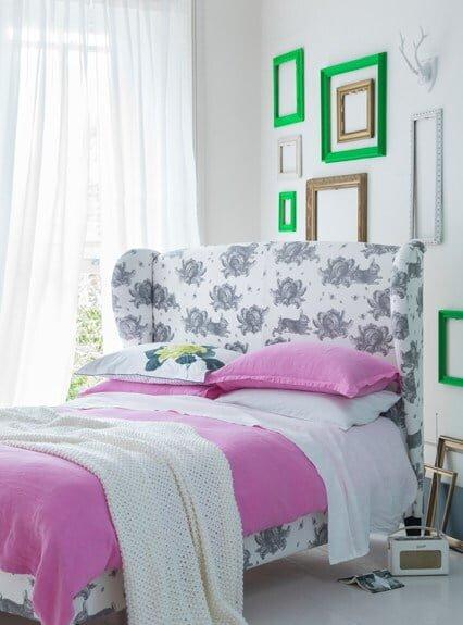 göz alıcı yatak odaları