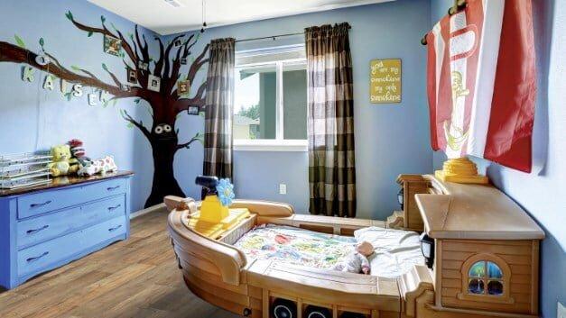 Yeni Fikirlerle Eğlenceli Çocuk Odası Dekorasyonları 2020