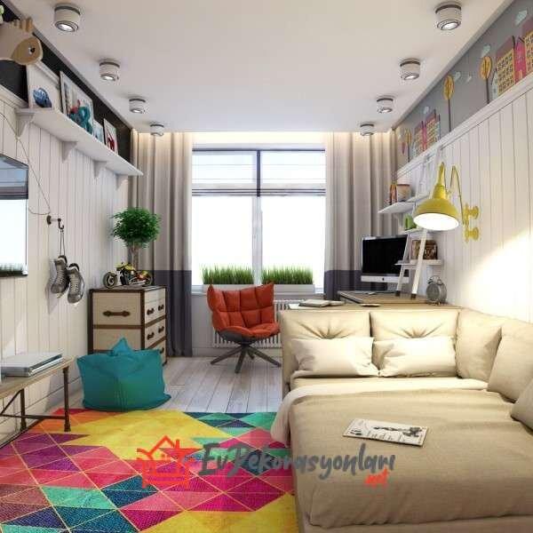 genc odasi dekorasyon modeli