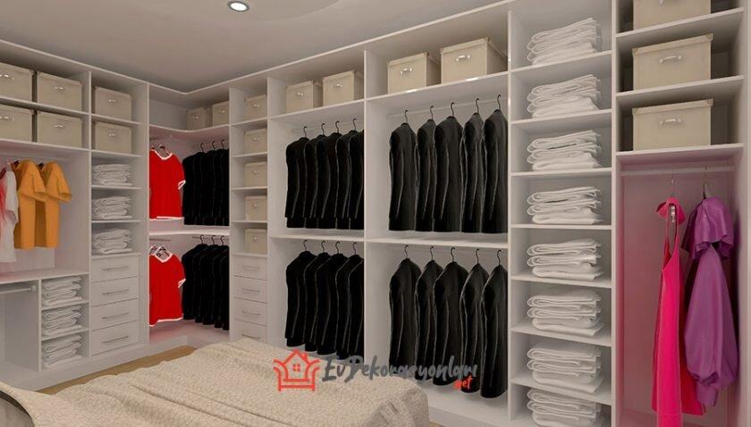 2020 Giyinme Odası Dekorasyonu