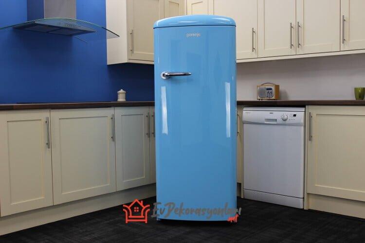 gorenje retro mavi buzdolabi modeli