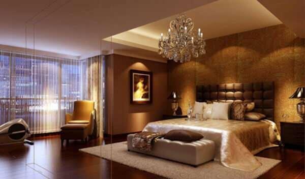 gosterisli-kahverengi-yatak-odasi-dekorasyonu