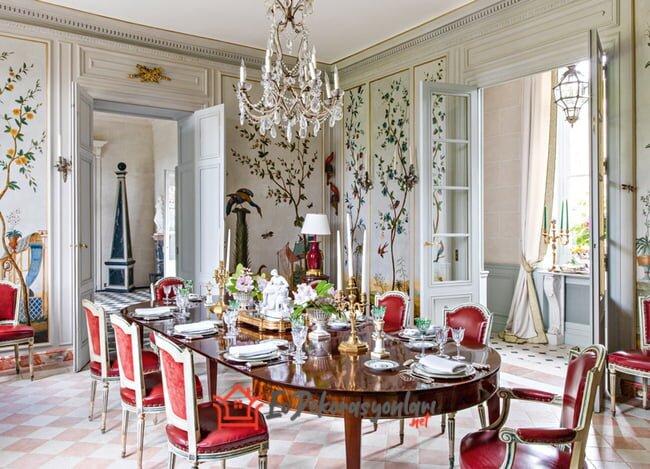 gosterisli yemek odasi dekorasyon fikirleri