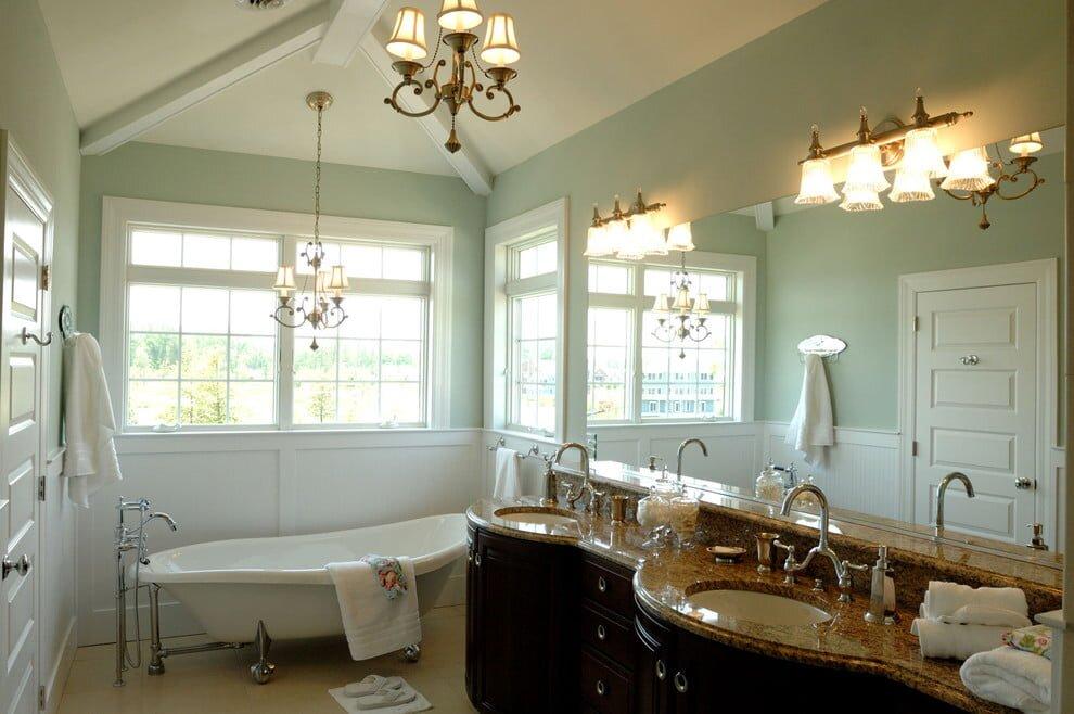 goz alici banyo dekorasyon modelleri