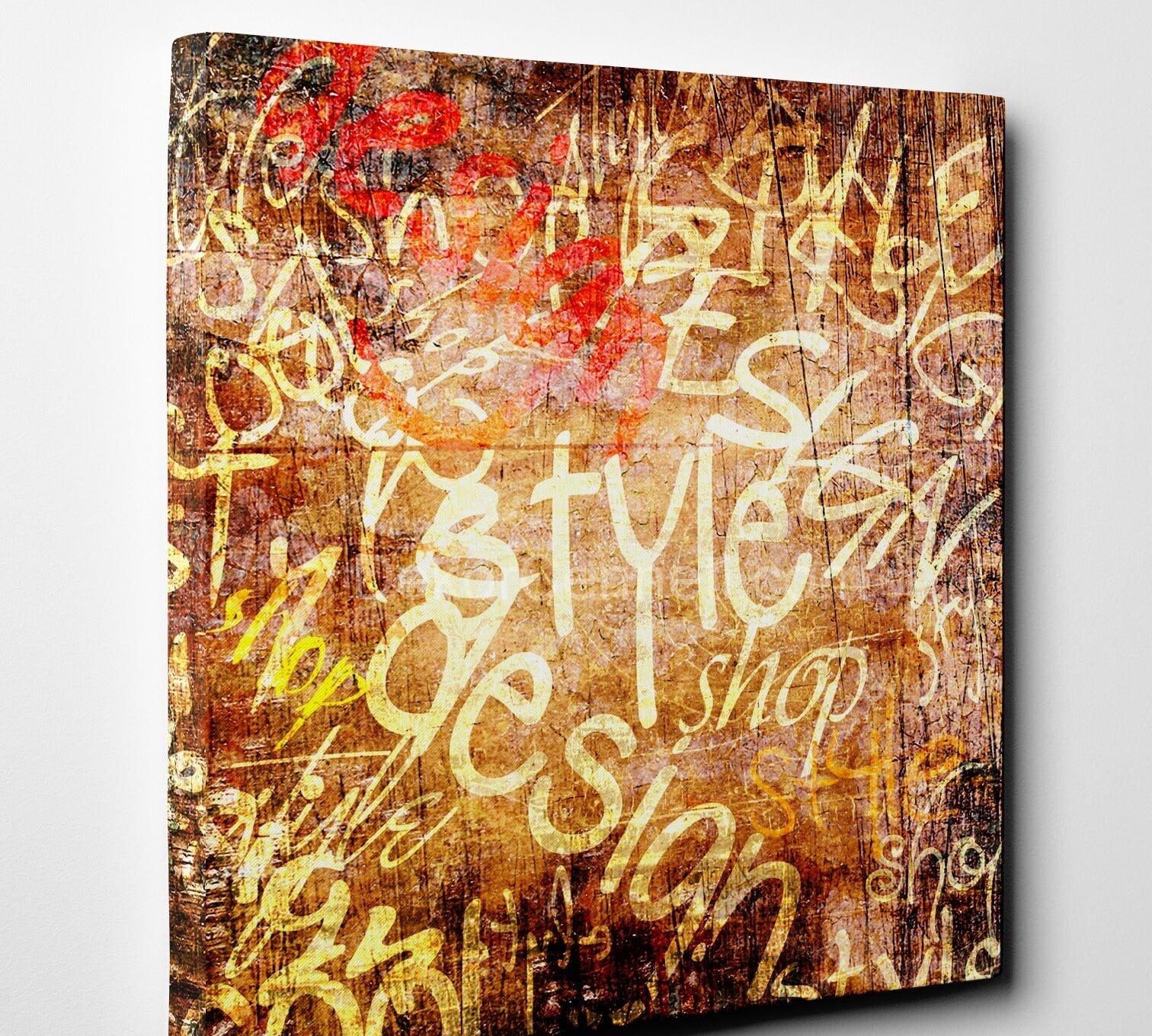 grafiti-vintage-canvas-tablo