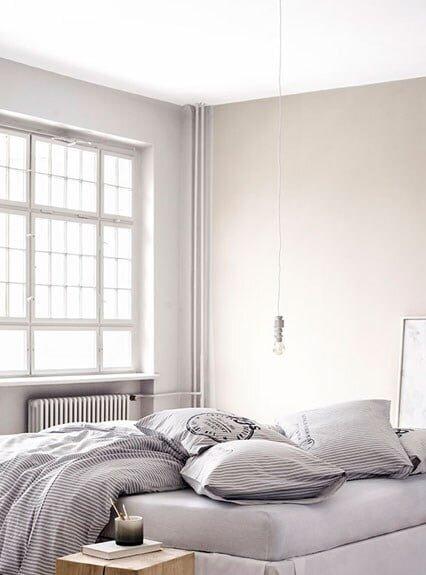 gri yatak odaları