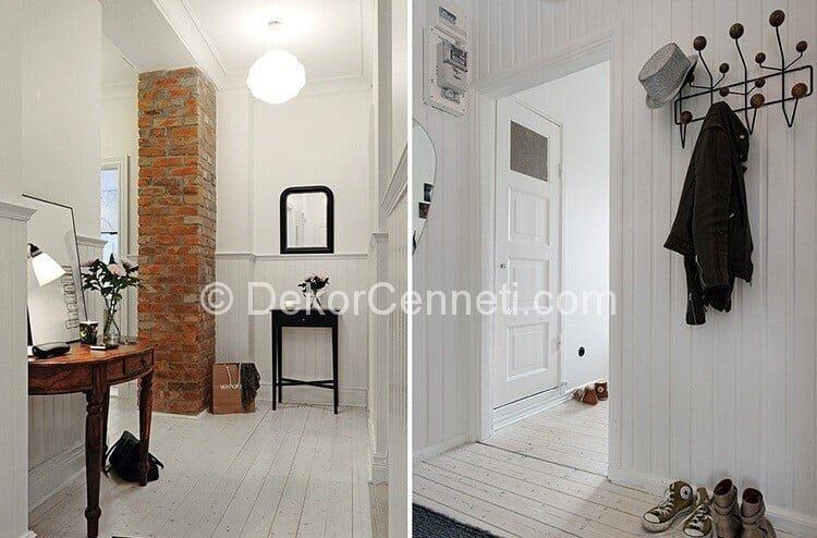 Güzel antre dekorasyon ve mobilyaları Fotoğrafları