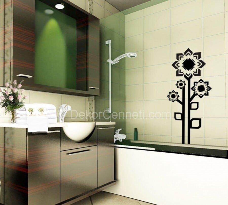 Güzel banyo sticker Fotoları