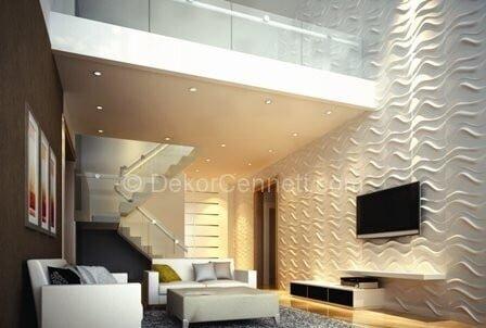 Güzel dekoratif duvar kaplama panelleri fiyat Resimleri