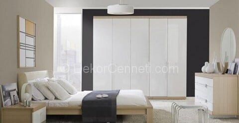Güzel ekru renk yatak odası Galerisi