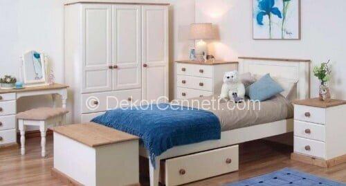 Güzel genç odası yatak başlığı Modelleri