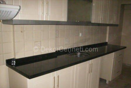 Güzel granit mutfak tezgahı bakımı Modelleri