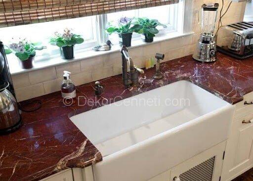 Güzel granit mutfak tezgahı fiyatları izmir Modelleri