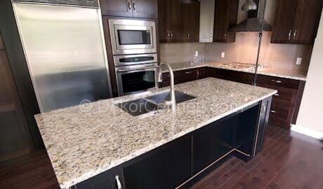 Güzel granit mutfak tezgahı yapımı Galeri