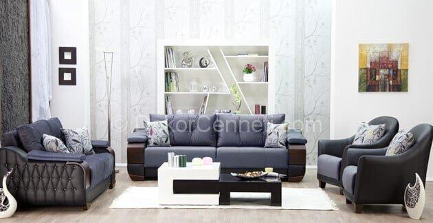 Güzel gri koltuk ile uyumlu halı Fotoları