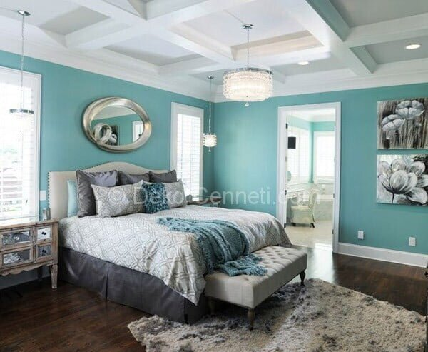 Güzel gri renk genç odası Galeri