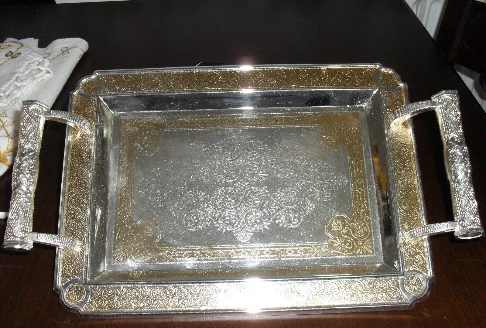 Güzel gümüş ev aksesuarları Fotoğrafları