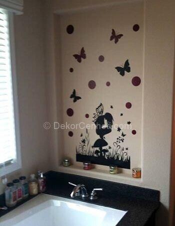 Güzel güzel banyo sticker modelleri Galerisi