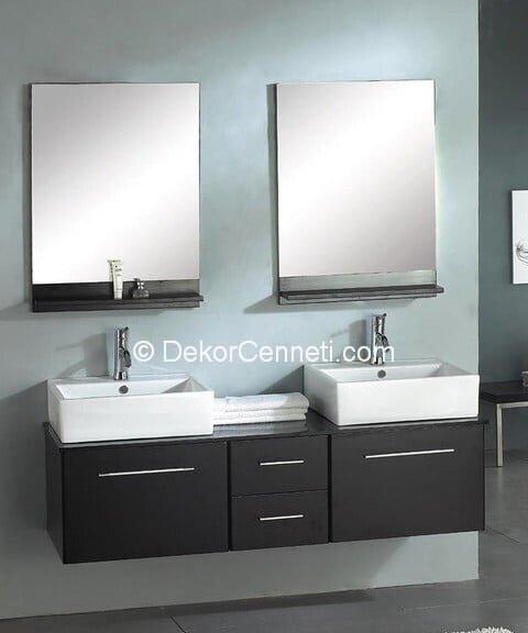 Güzel ikili lavabo Fotoları