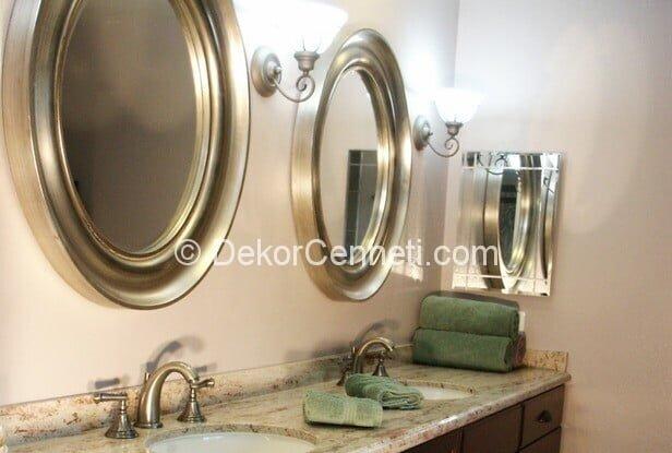 Güzel ikili lavabo Galeri