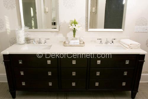 Güzel ikili lavabo Resimleri