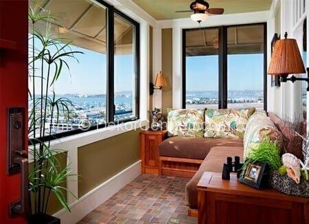 Güzel kapalı balkon dekorasyon örnekleri Fotoğrafları
