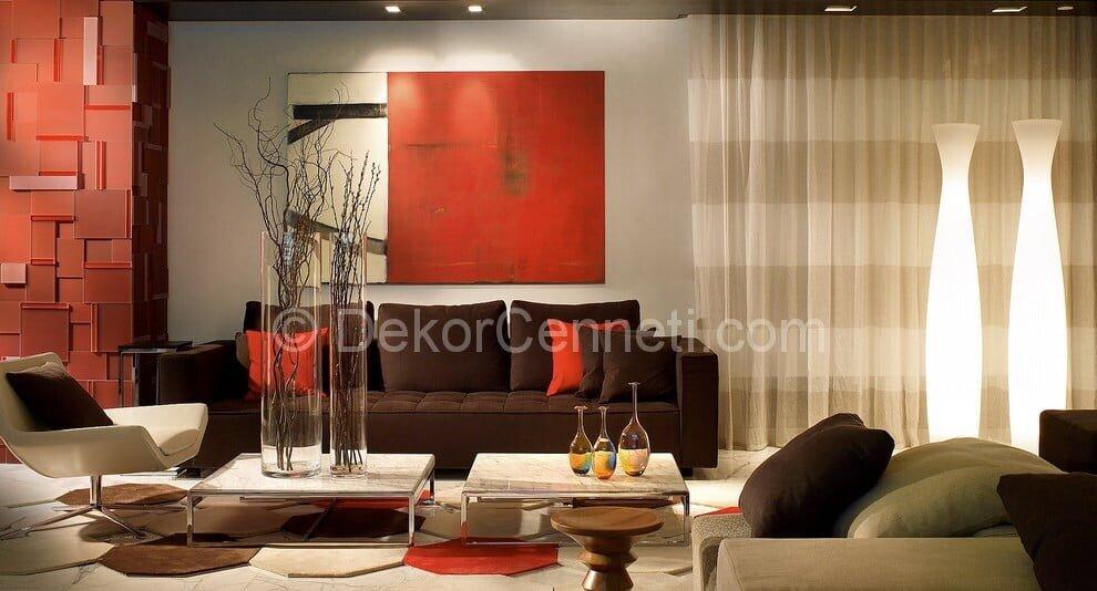 Güzel oturma odası dekorasyonu Galeri