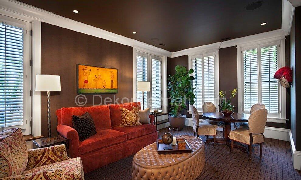 Güzel oturma odası dekorasyonu Galerisi