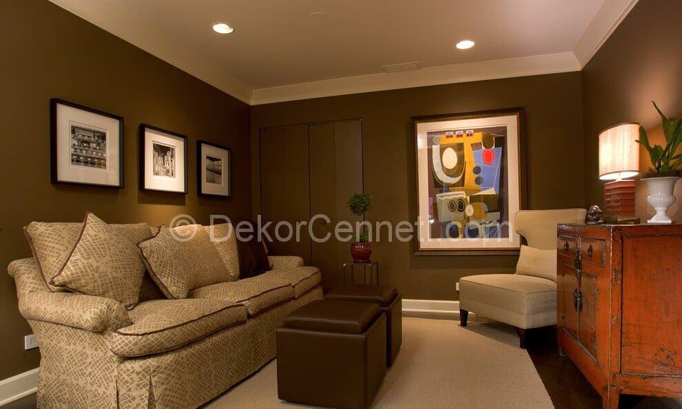 Güzel oturma odası dekorasyonu Resimleri