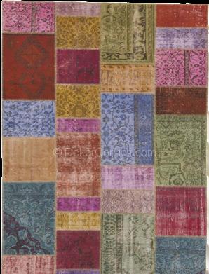 Güzel patchwork halı yıkama Modelleri
