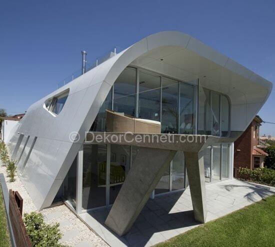 Güzel villa mimari Fotoğrafları