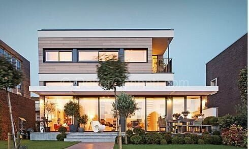Güzel villa mimari Görselleri