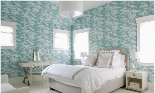 Güzel yatak odasi boya renkleri Fotoları