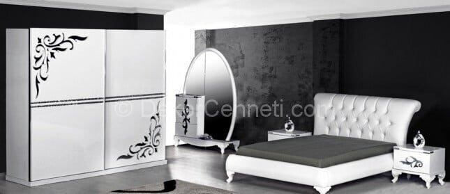 Güzel yatak odası duvar renk seçimi Modelleri