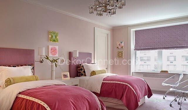 Güzel yatak odası hangi renk olur Görselleri