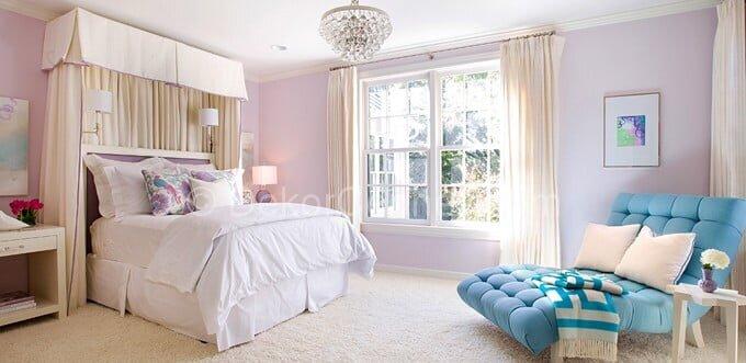 Güzel yatak odası için hangi renk tercih edilmeli Galerisi