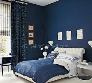 Güzel yatak odası için hangi renkler uygundur Resimleri