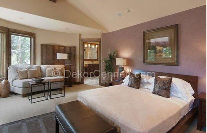 Güzel yatak odası renk kombinasyonu Resimleri