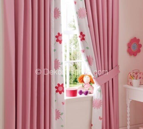 Harika bebek odası perde ve halısı Görselleri