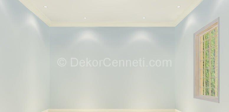 Harika buz beyazı duvar rengi Görselleri