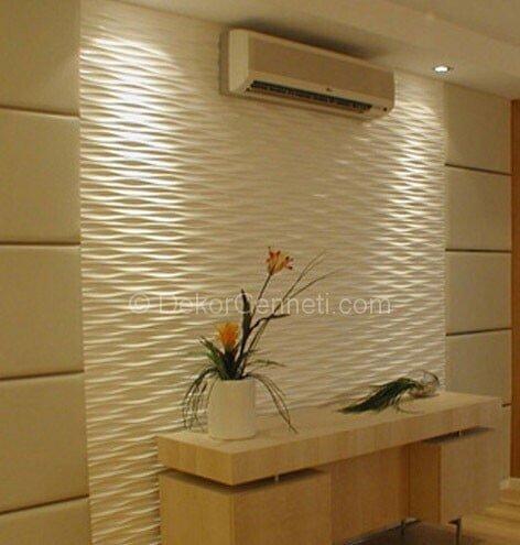 Harika dekoratif duvar paneli banyo Görselleri