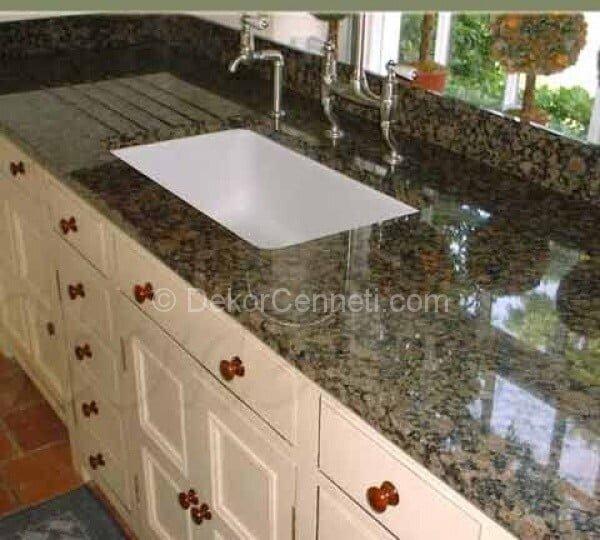 Harika granit mutfak tezgahı izmir Görselleri